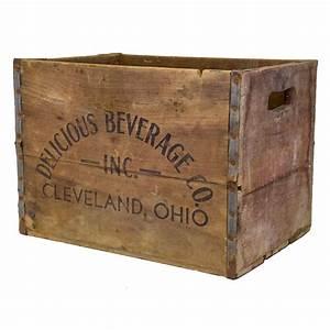 Vintage, Wood, Beverage, Crate
