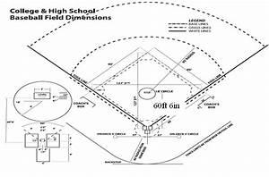 College  U0026 High School Baseball Field Dimensions  7