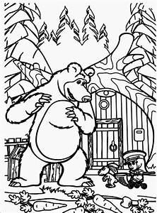 Und Der Bär : ausmalbilder zum ausdrucken ausmalbilder mascha und der b r ~ Orissabook.com Haus und Dekorationen