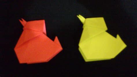membuat origami anak ayam origami binatang youtube