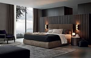 20 modern contemporary masculine bedroom designs modern With kitchen cabinet trends 2018 combined with papiers toilettes originaux