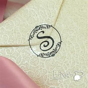 90 black monogram initial wedding envelope seal sticker ebay With wedding invite envelope stickers