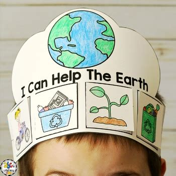 earth day craft  writing prompt  abcs  literacy tpt