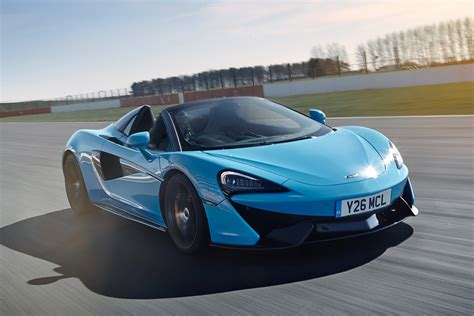 New Mclaren 570s Spider Track Pack Launched  Auto Express
