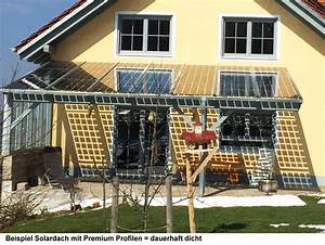 Photovoltaik Selber Bauen : befestingungsprofile premium 6 meter f r glas glas photovoltaik module bei carports und ~ Whattoseeinmadrid.com Haus und Dekorationen