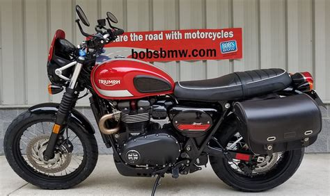 Triumph Modification by 2017 Triumph Scrambler Bob S Bmw Motorcycles