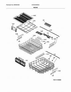 Electrolux Ei24cd35rs4a Dishwasher Parts