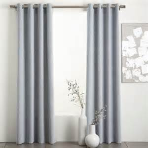light blue grey velvet curtain