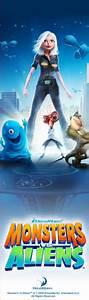 Monsters Vs. Aliens (2009) poster - FreeMoviePosters.net