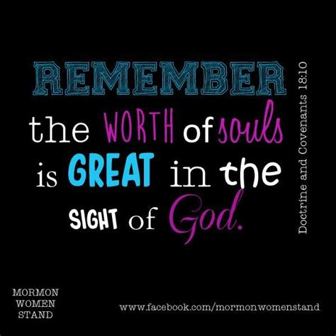 remember  worth  souls  great   sight  god