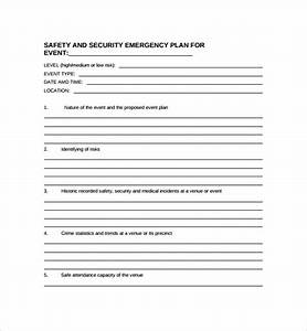 sample security plan template 10 free documents in pdf With event safety plan template