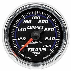Autometer Full Sweep Transmission Temp Gauge