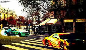 French Street Race Wallpaper and Background Image