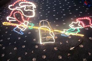 seesaw ropelight christmas lights decorations outdoor With outdoor christmas lights for driveway