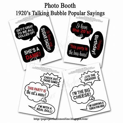 Props Booth Printable Signs Sayings Paper Perfection