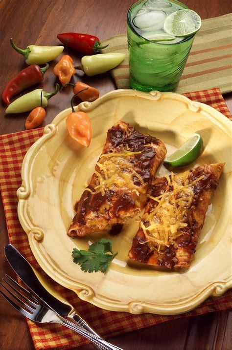 recipe classic red enchiladas california cookbook