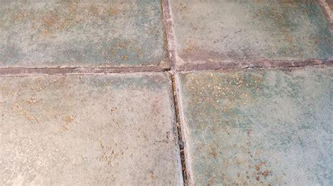 flooring sanded grout in tile floor keeps