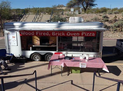 pizza cuisine az road running wood fired pizza closed food trucks