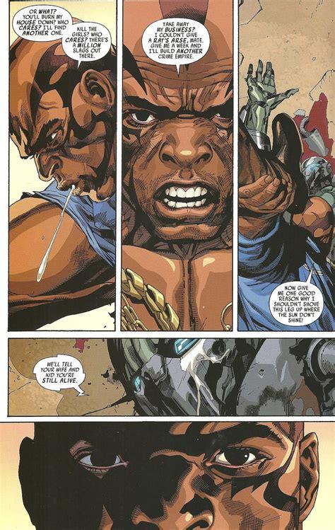 iron spider man  ultimate warmachine battles comic vine
