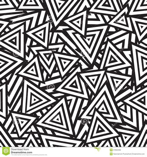 Abstract Vector Black And White by Abstract Black And White Seamless Pattern Vector Royalty