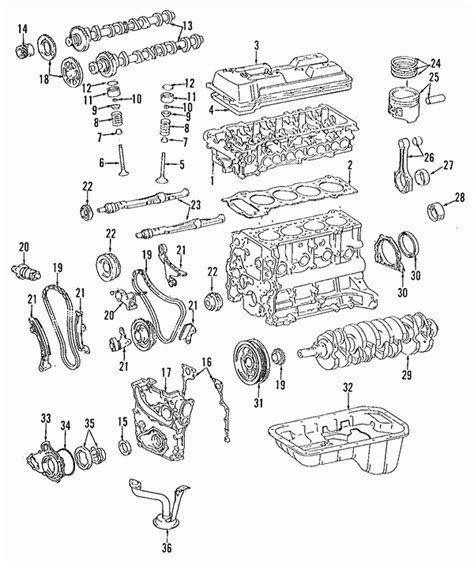 Toyotum 2 4 Engine Intake Manifold Diagram by Parts 174 Toyota 4runner Air Intake Oem Parts In 2000