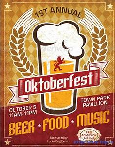 65 Best Oktoberfest Festival Party Flyer Print Templates ...
