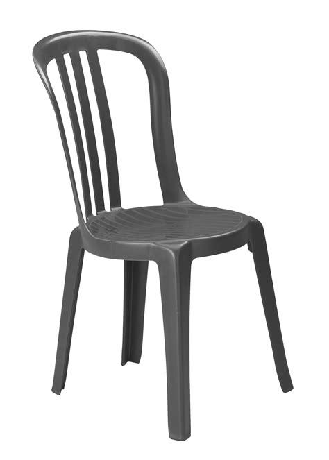 chaise de bistrot chaise de jardin miami bistrot grosfillex