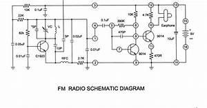 Simple Fm Receiver Circuit Diagram