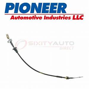 Pioneer Clutch Cable For 1984