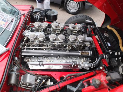 Jaguar E-type V12 Engine