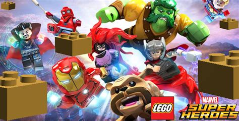 lego marvel superheroes  gold bricks locations guide