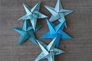 Origami Fleur Coeur D étoile : d couvrez le tuto et r alisez pas pas un joli mobile d ~ Melissatoandfro.com Idées de Décoration