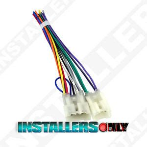 Aftermarket Car Stereo Radio Wiring Harness Toyota