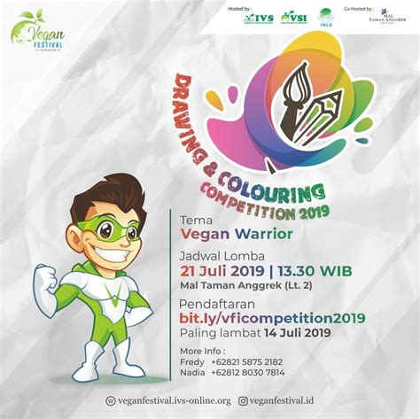 vegan festival indonesia plant based revolution  coming