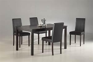Chaise Table A Manger : table a manger pas cher avec chaise table pas cher somum ~ Teatrodelosmanantiales.com Idées de Décoration