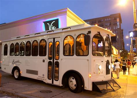 Cescaphe Trolley, Wedding Transportation, Pennsylvania ...