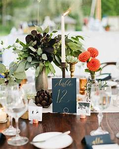 The Prettiest Wedding Table Number Ideas from Real