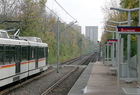 st louis light rail high rises ahead