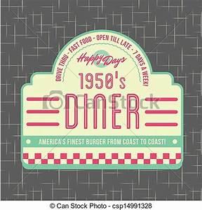 Design 50s Diner Clipart - Clipart Suggest