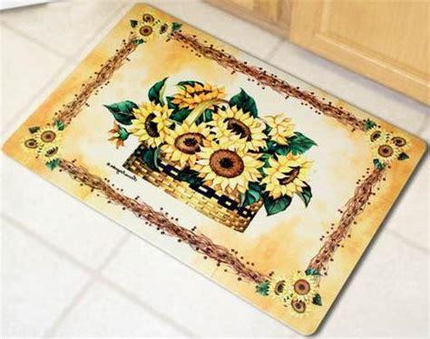 kitchen floor rugs washable kitchen amazing washable kitchen rug sets sunflower 4813