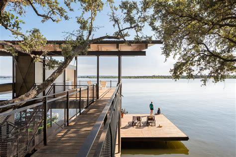 blue lake retreat lake flato