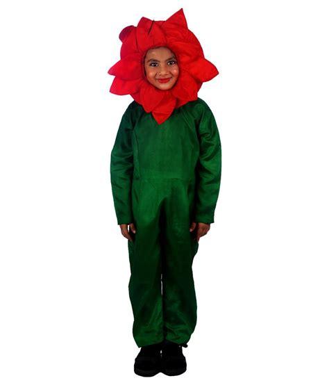 sbd red rose flower fancy dress velvet costume buy sbd