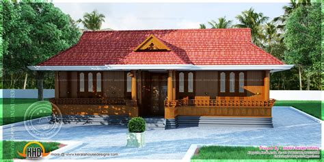 Kerala nalukettu home plan - Kerala home design and floor