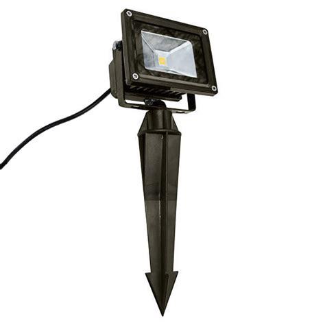 20 watt led flood light fixture with ground stake