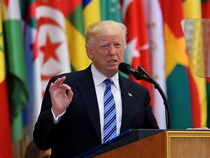 In Saudi visit, Trump offers contradictions from campaign ...