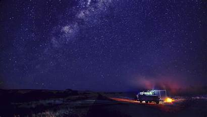 Sky Night 4k Stars Camping Desktop Starry