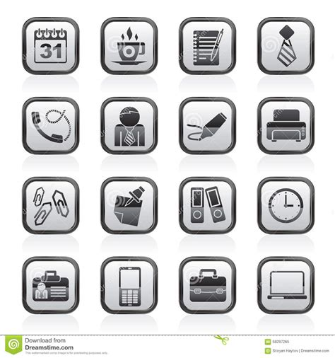 affaires de bureau graphismes d 39 affaires et de bureau illustration de vecteur
