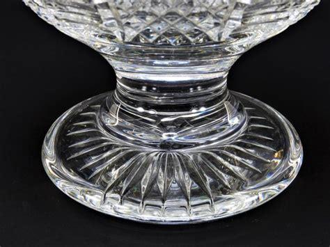 Large Waterford Crystal Globular Vase