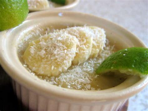 bananes au lait de coco recette