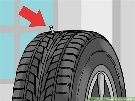 How To Repair A Punctured Tire (with Pictures)
